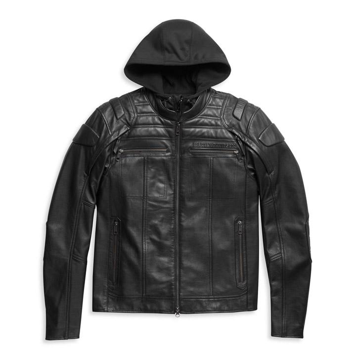 할리데이비슨 남성 오로랄Ⅱ 3-in-1 가죽재킷