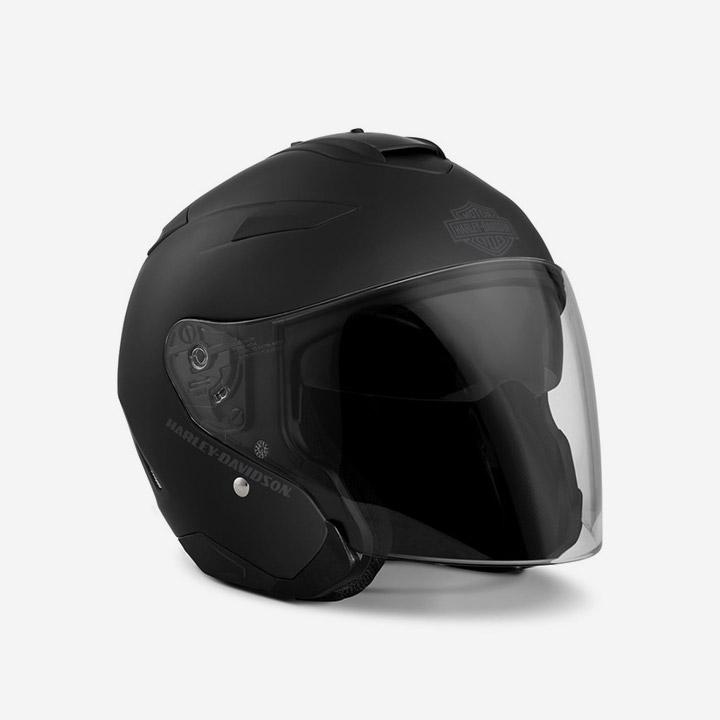 메이우드 오픈페이스 헬멧 BLACK