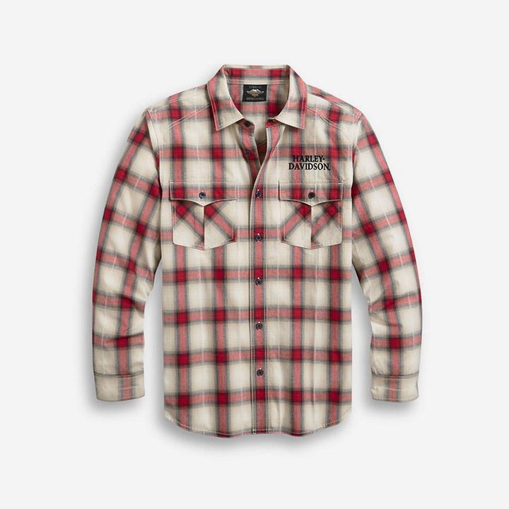 남성 프리덤 플래드 긴팔셔츠