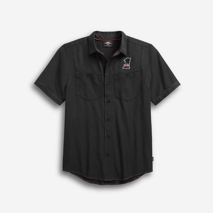 남성 퍼포먼스 쿨코어 반팔셔츠 BLACK
