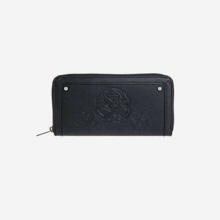여성 로잘리타 스컬 지갑