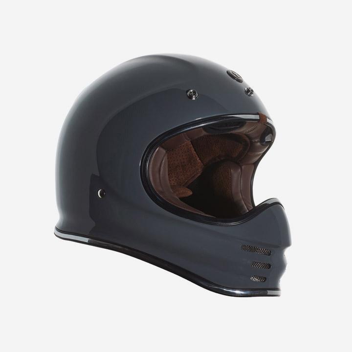 레트로 풀페이스 토크 헬멧 NARDO GREY